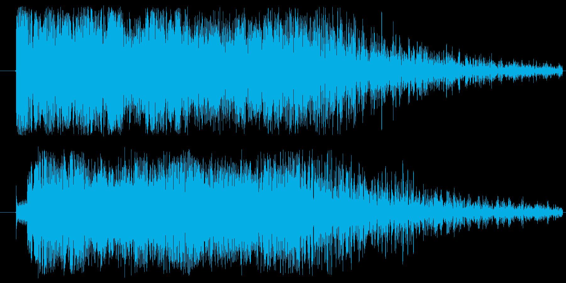 ドミソド(-1):バッドエンド~ホラーの再生済みの波形