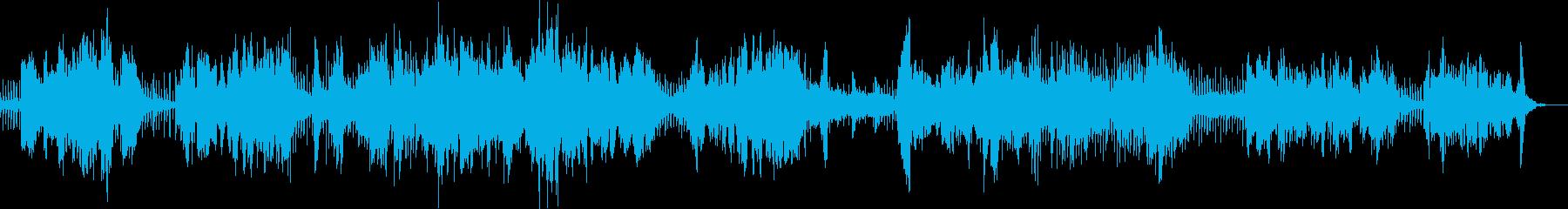 二胡とシンセ・ピアノとおっさんの民族調の再生済みの波形