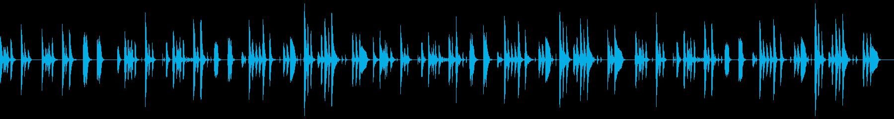 脱力感のあるほのぼの日常の再生済みの波形