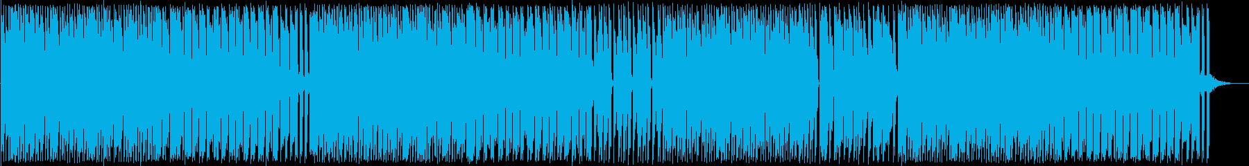 アップテンポで楽しい和風ポップスの再生済みの波形