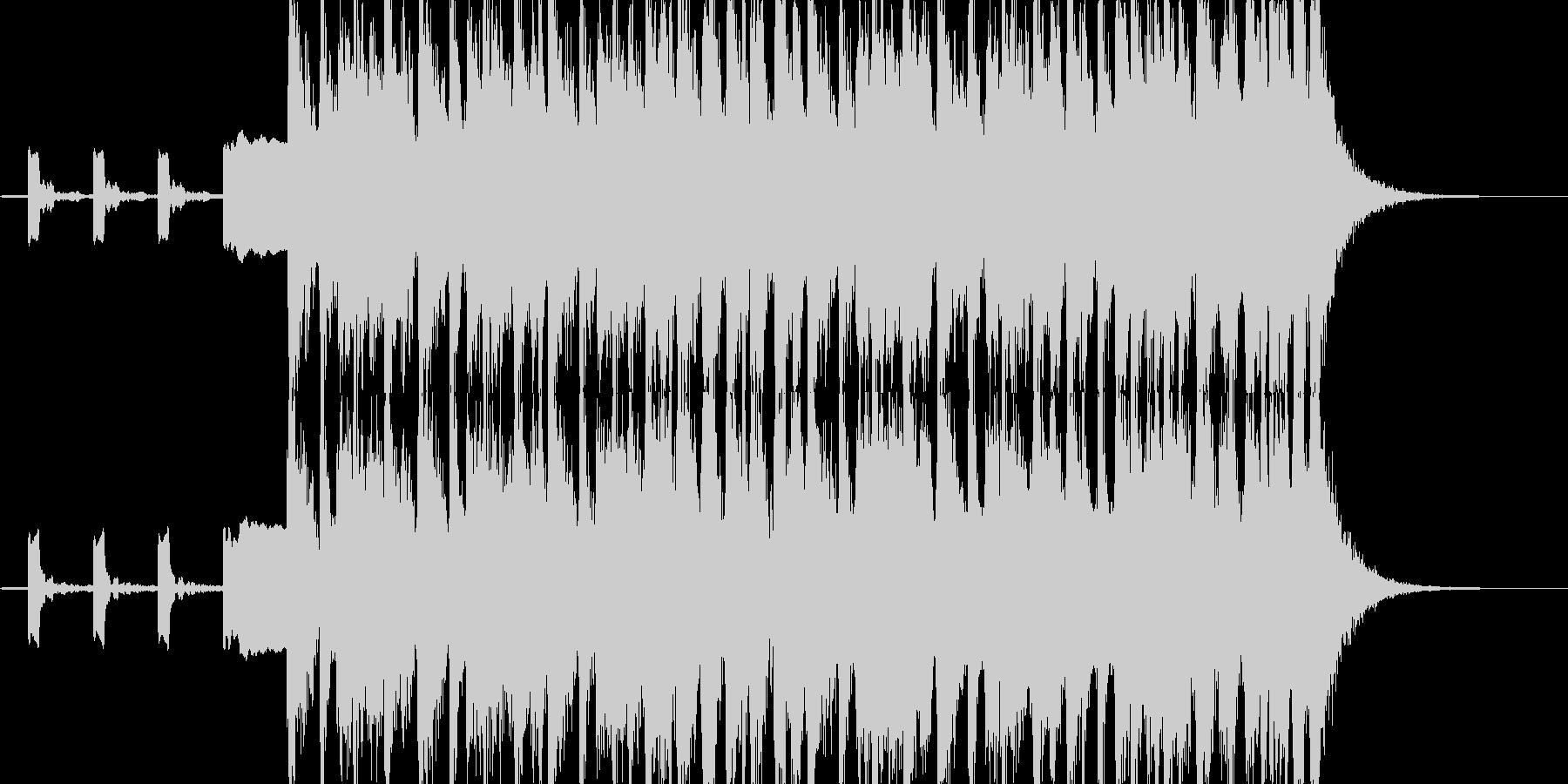 News音楽のOP、ピコピコ系SQの未再生の波形