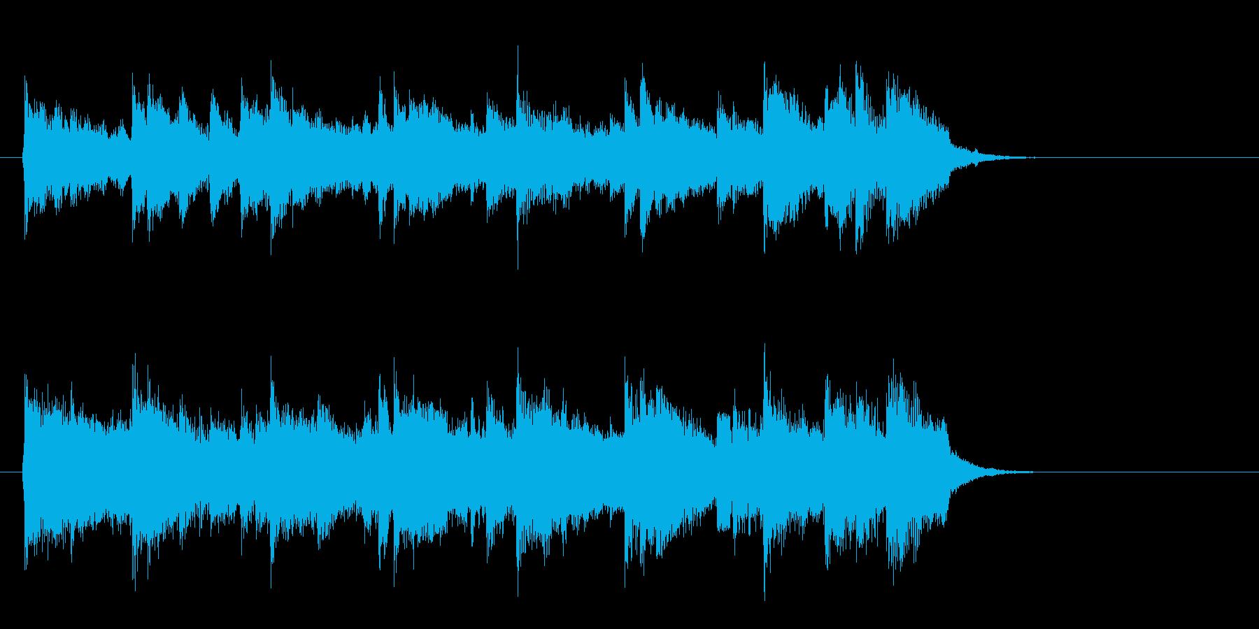 アコースティックバラード(イントロ)の再生済みの波形