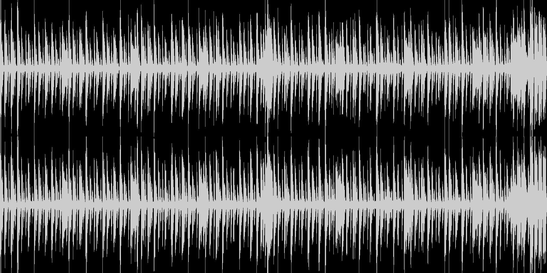 怪しい曲の未再生の波形