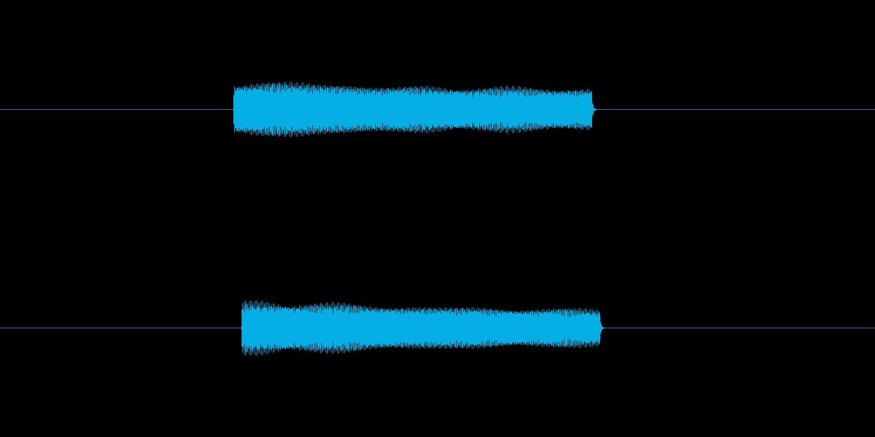 ピッ 電子音 ボタン 選択 電源オン の再生済みの波形
