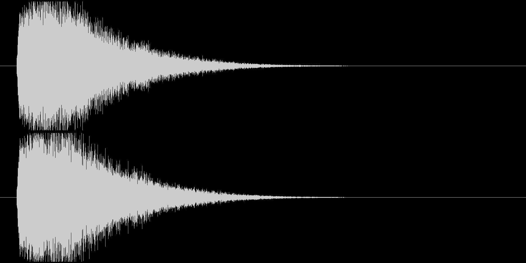 インパクトSynth系の未再生の波形