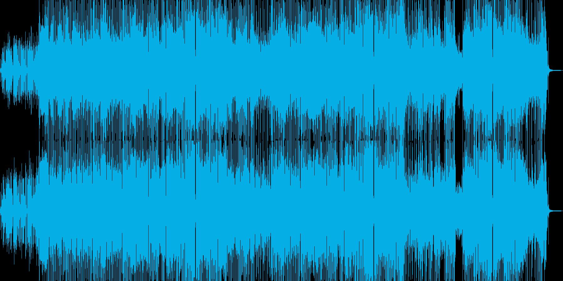 仕事が楽しくなるスイングジャズの再生済みの波形