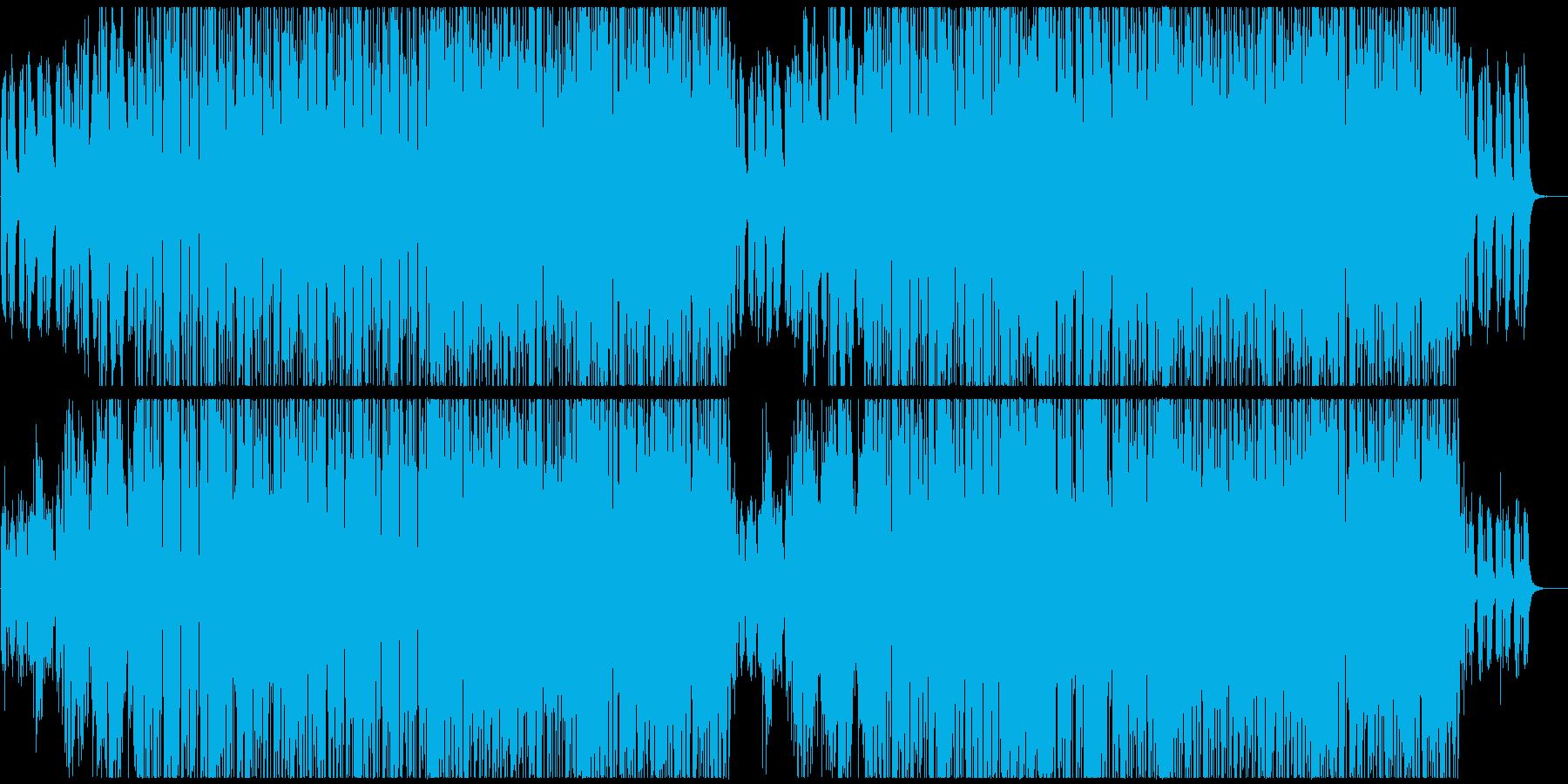 海っぽいエレクトロニカの再生済みの波形