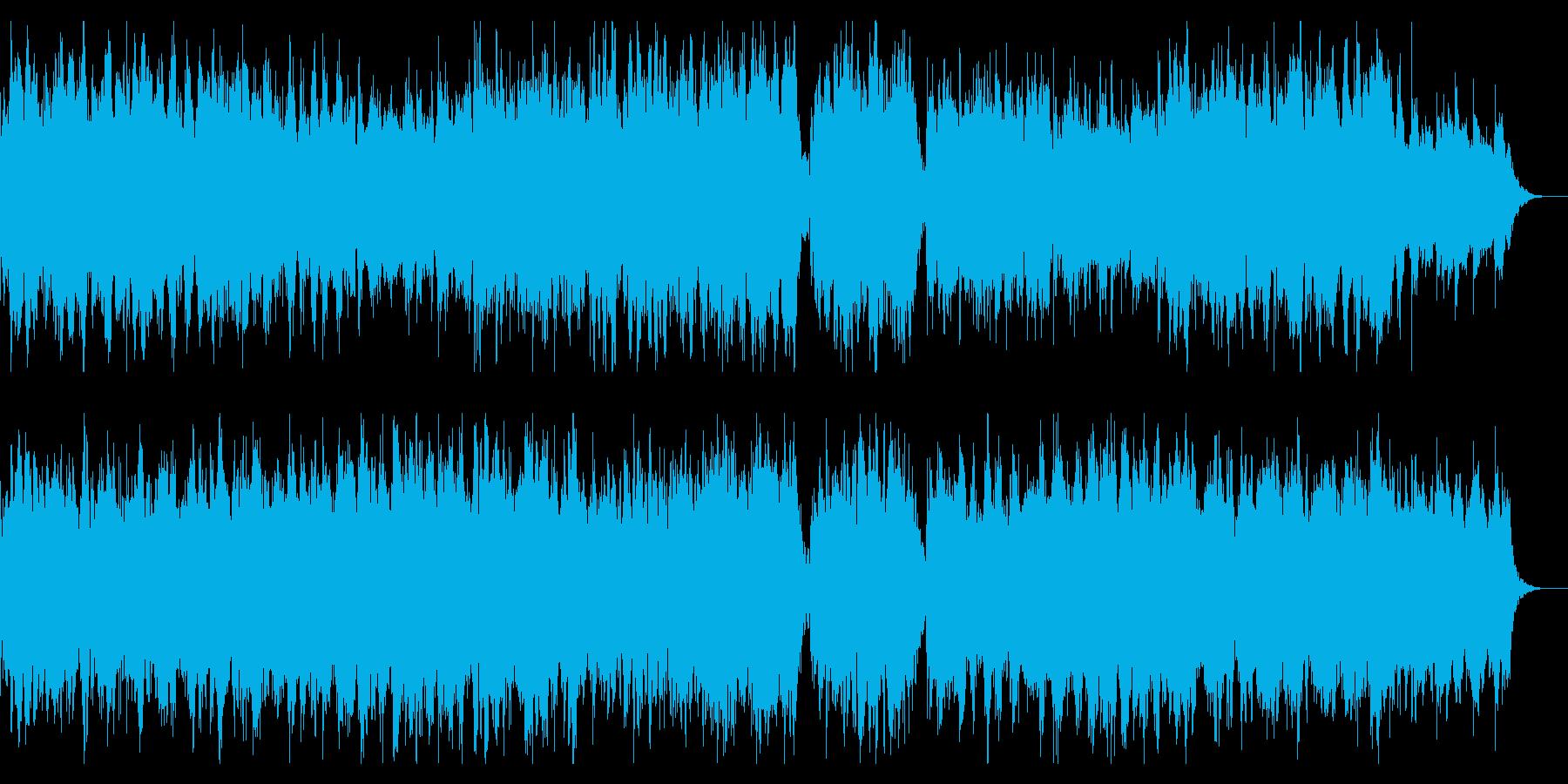 シネマチックなダークアンビエント 恐怖感の再生済みの波形