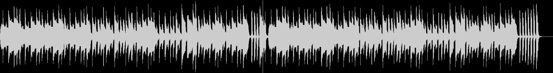 ほのぼのアニメ 日常系楽曲の未再生の波形