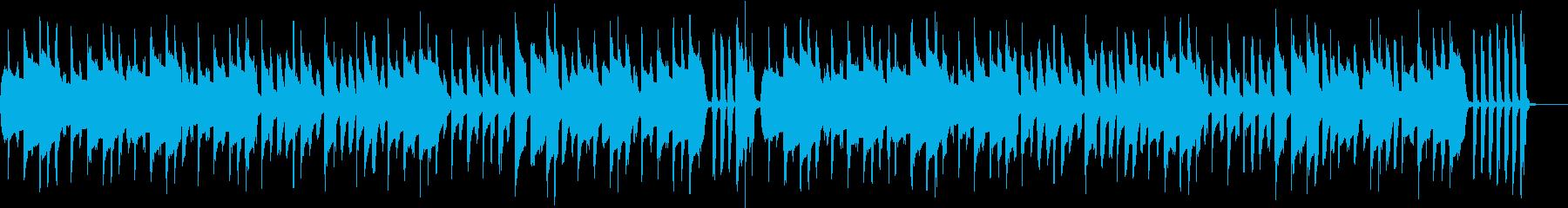 ほのぼのアニメ 日常系楽曲の再生済みの波形