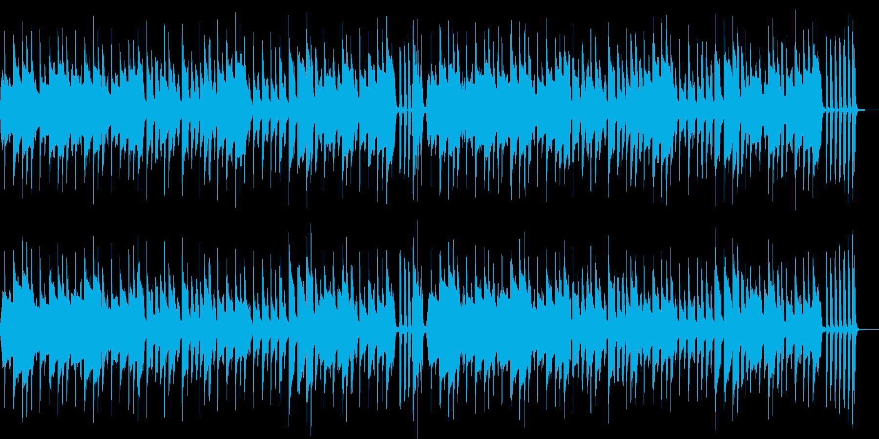 ユーチューバー御用達BGM 動画配信最適の再生済みの波形