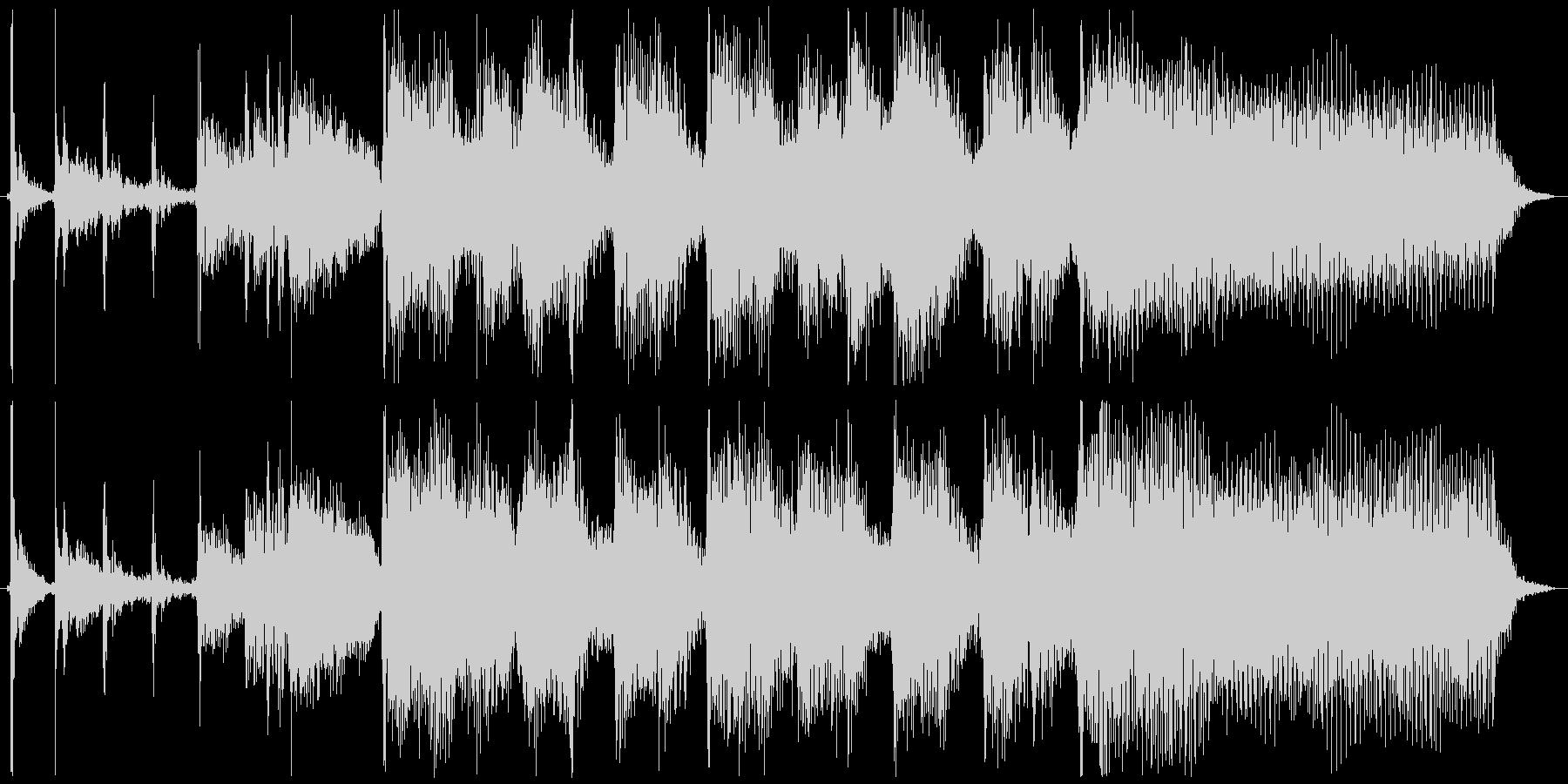 6秒ジングル用、ギター・ポップの未再生の波形