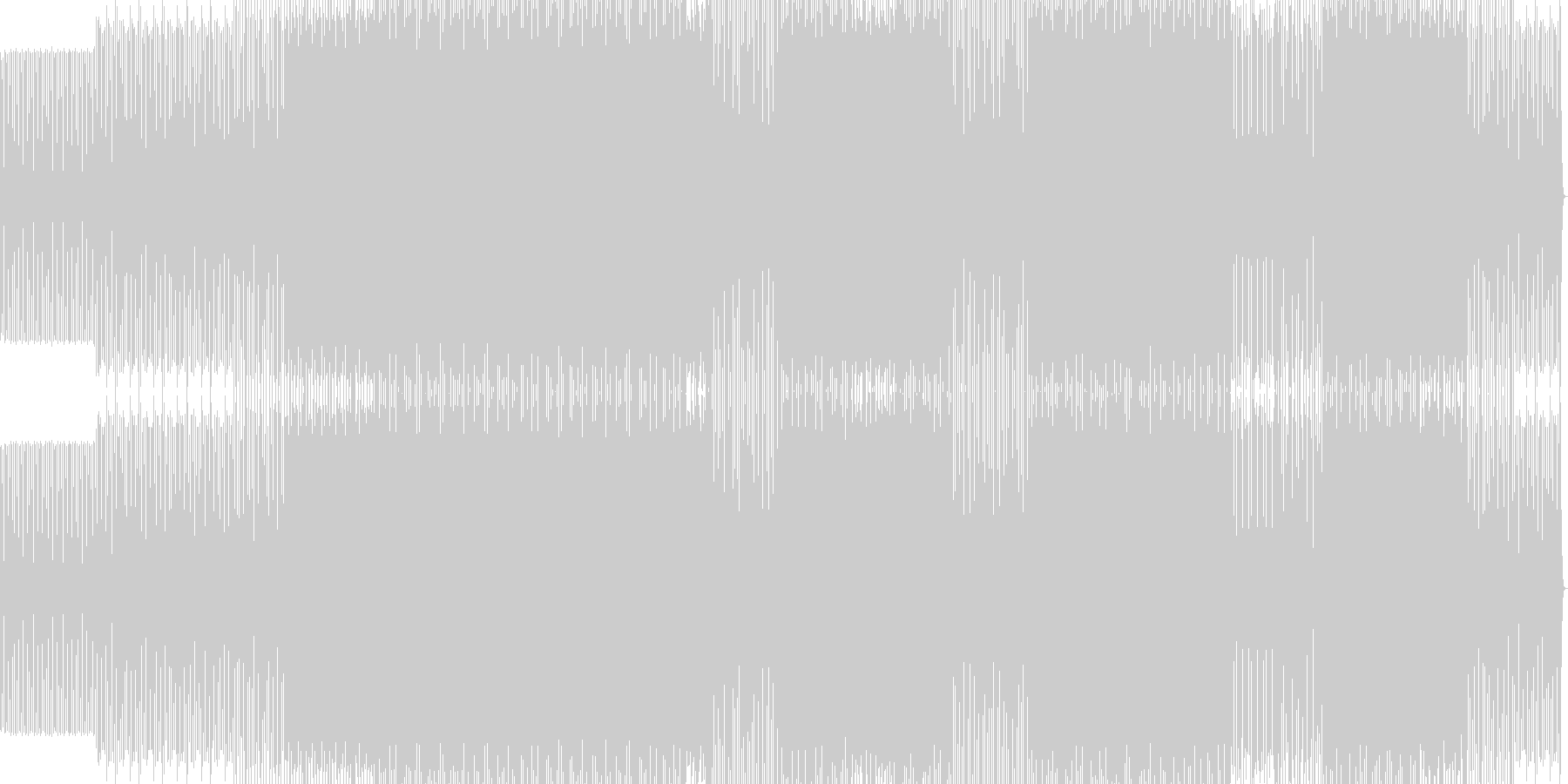 minimal house 6 の未再生の波形