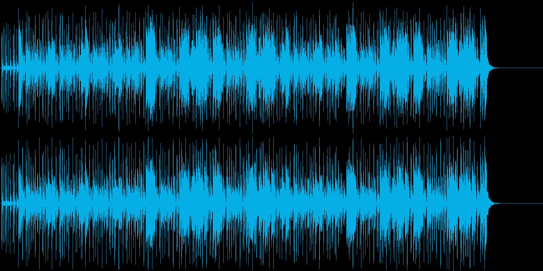 ドライブ 青空 アウトドア  街並みの再生済みの波形