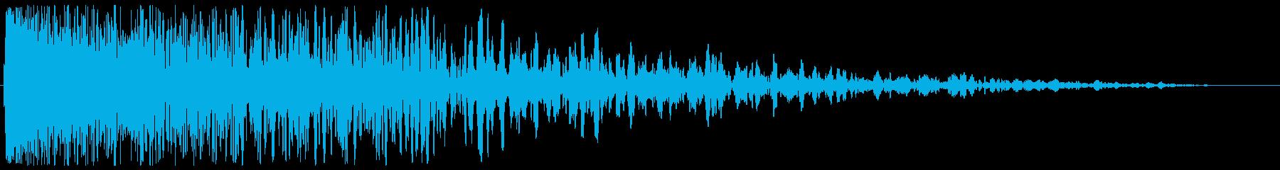チューン(発射系の音)の再生済みの波形