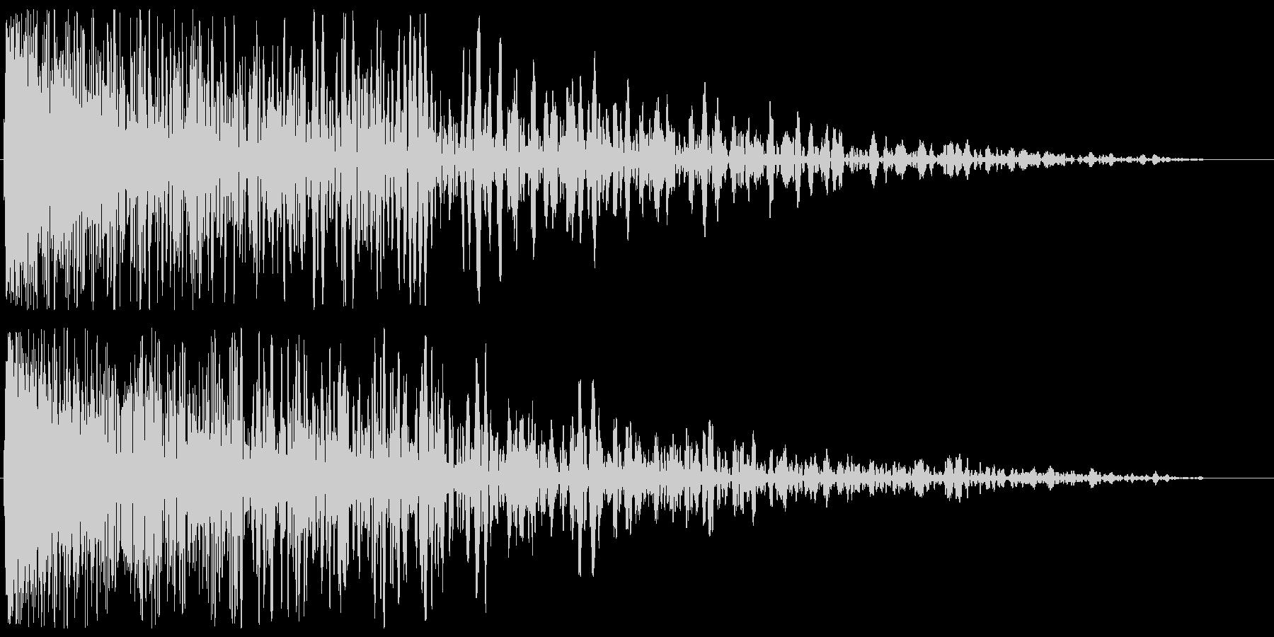 チューン(発射系の音)の未再生の波形