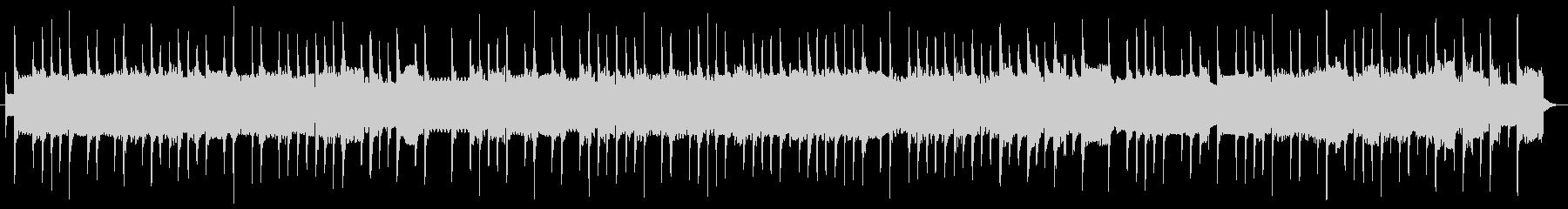 ノスタルジックなストリートオルガン曲の未再生の波形