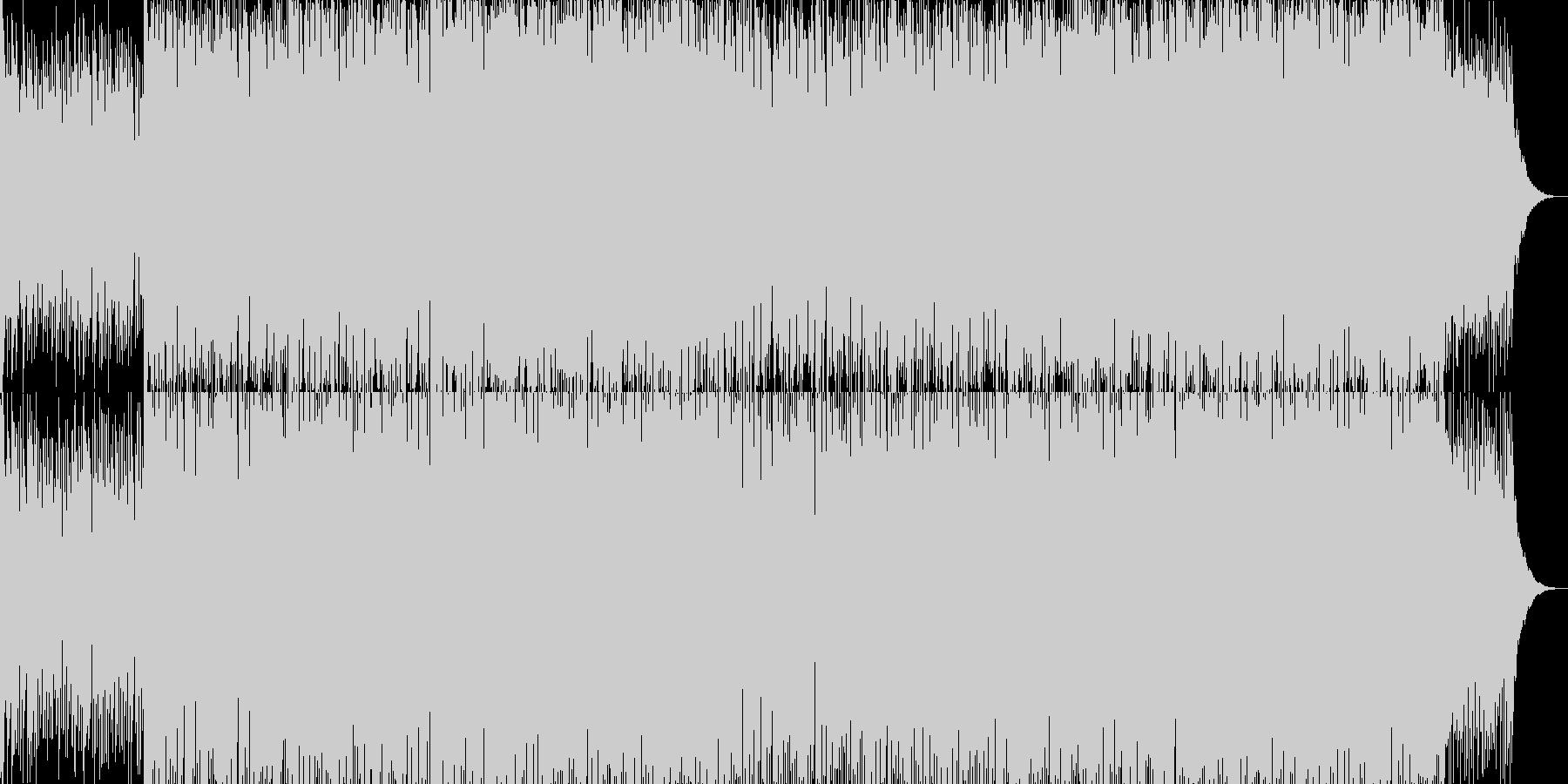 現代的で都会的なシンセミュージック-20の未再生の波形