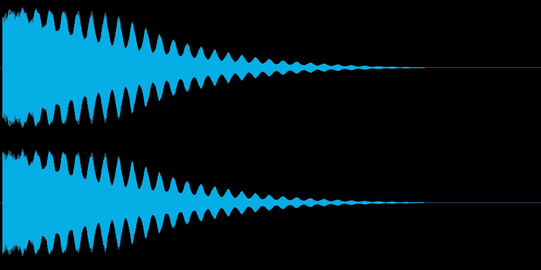 ちーん/お鈴/仏具/仏壇の再生済みの波形