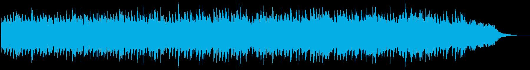 シンセによるキラキラしたジングル4の再生済みの波形