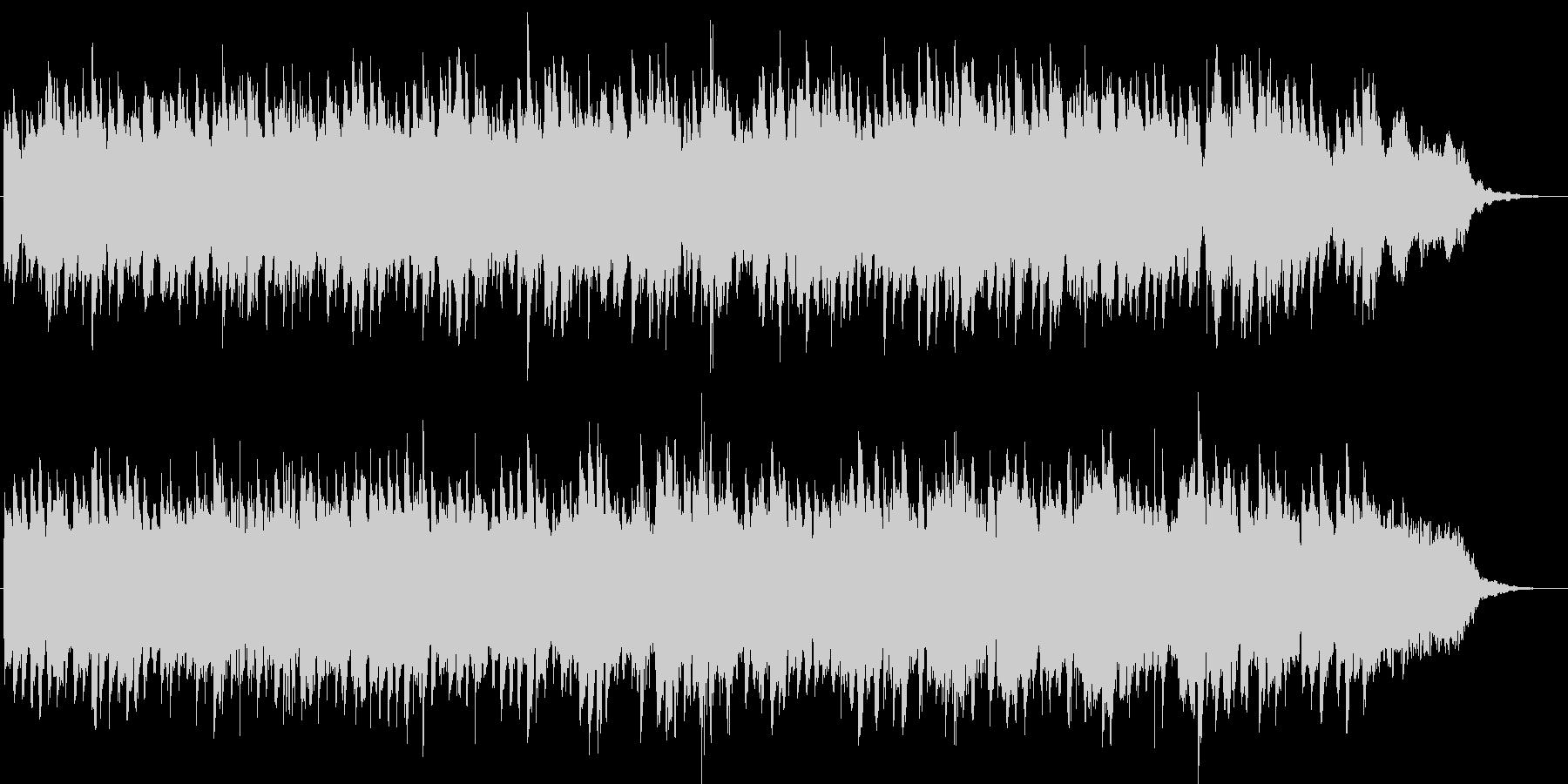 シンセによるキラキラしたジングル4の未再生の波形