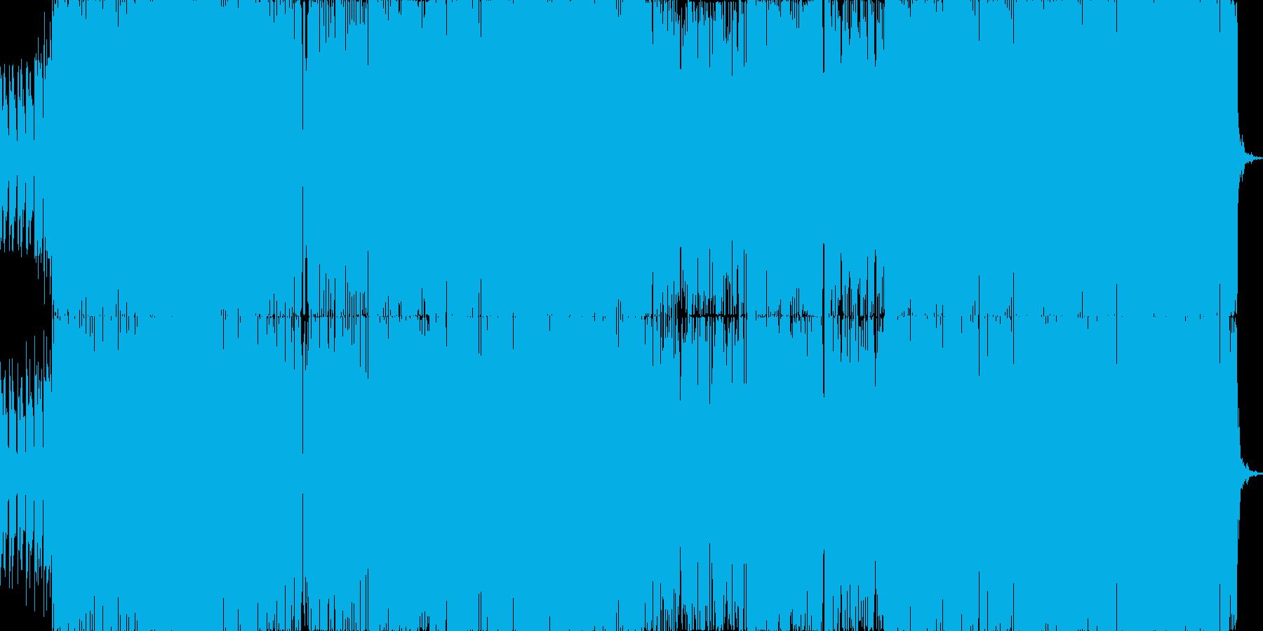 ピコピコテクノポップの再生済みの波形