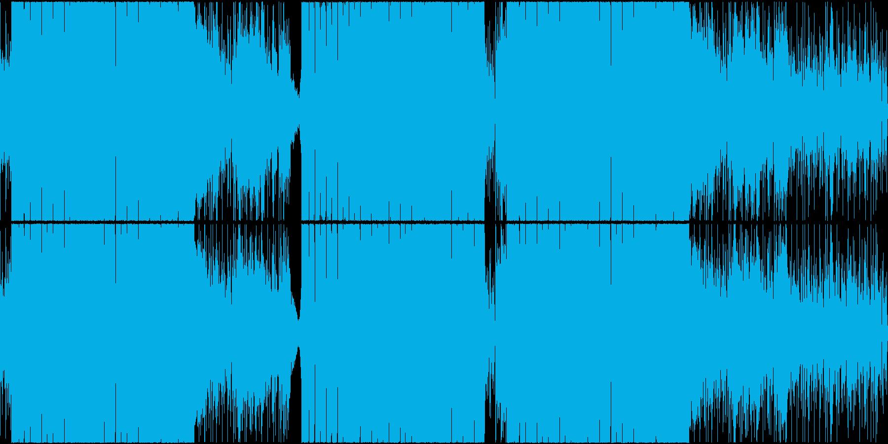 和風 テクノ 日本 ダンス 太鼓 LPの再生済みの波形