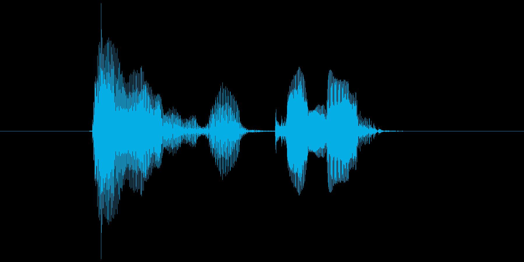 第六問の再生済みの波形