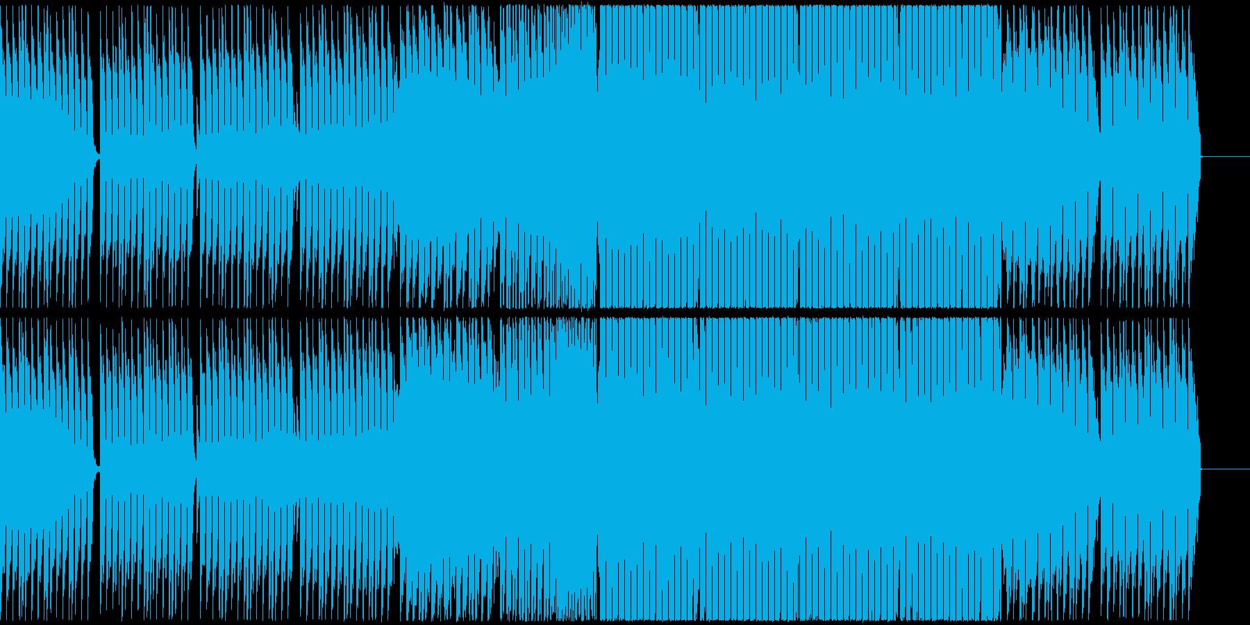 アガるダンス・ミュージック(EDM)の再生済みの波形
