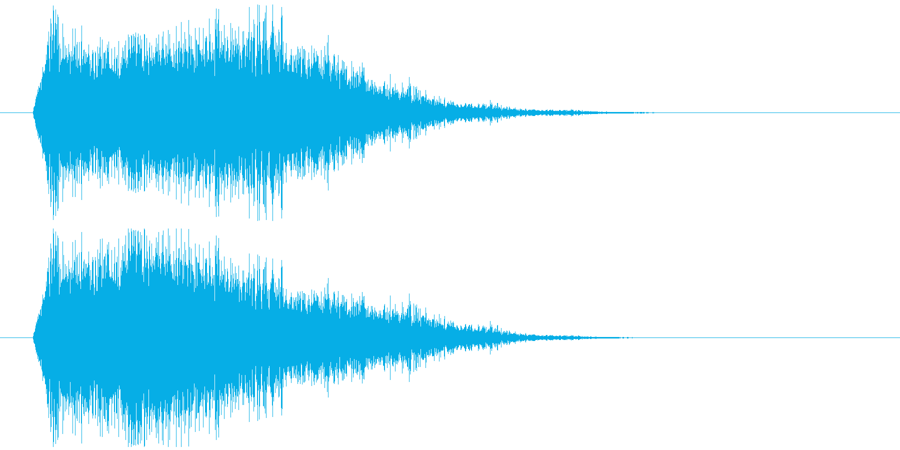 魔法効果消滅の再生済みの波形