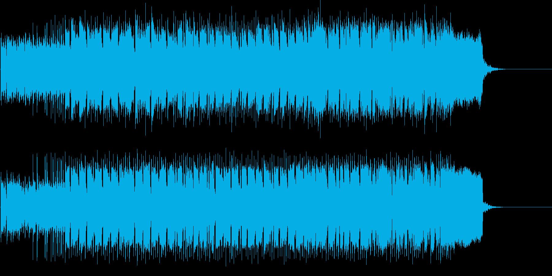 明るい 楽しい 登場 オープニング CMの再生済みの波形