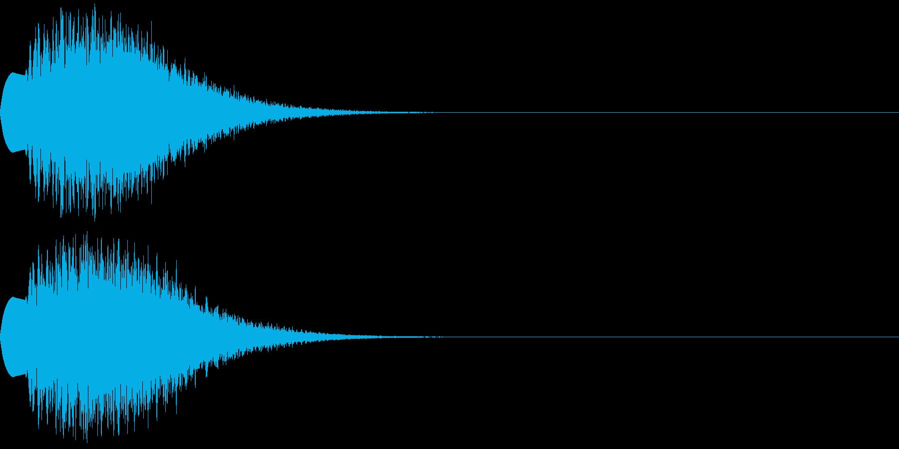 ティロロロロンの再生済みの波形