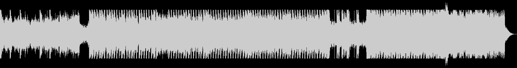 アナログシンセのハード・デジタルロックの未再生の波形
