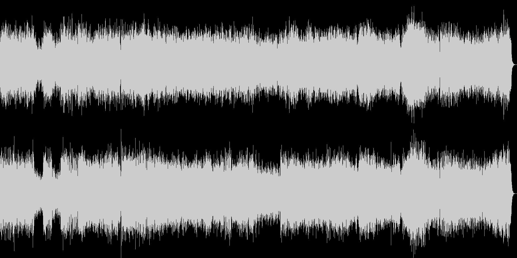 ブランデンブルク協奏曲2番1楽章/バッハの未再生の波形