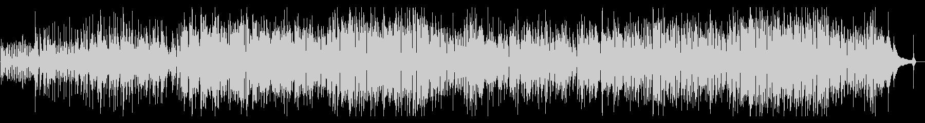 フルート生演奏のボサノバの未再生の波形