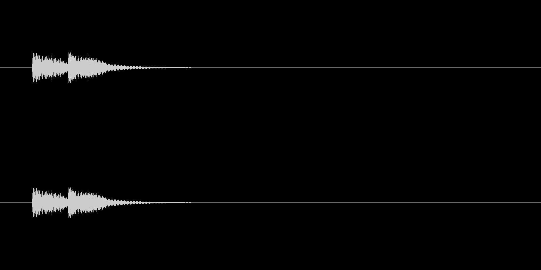 【びっくり07-2】の未再生の波形
