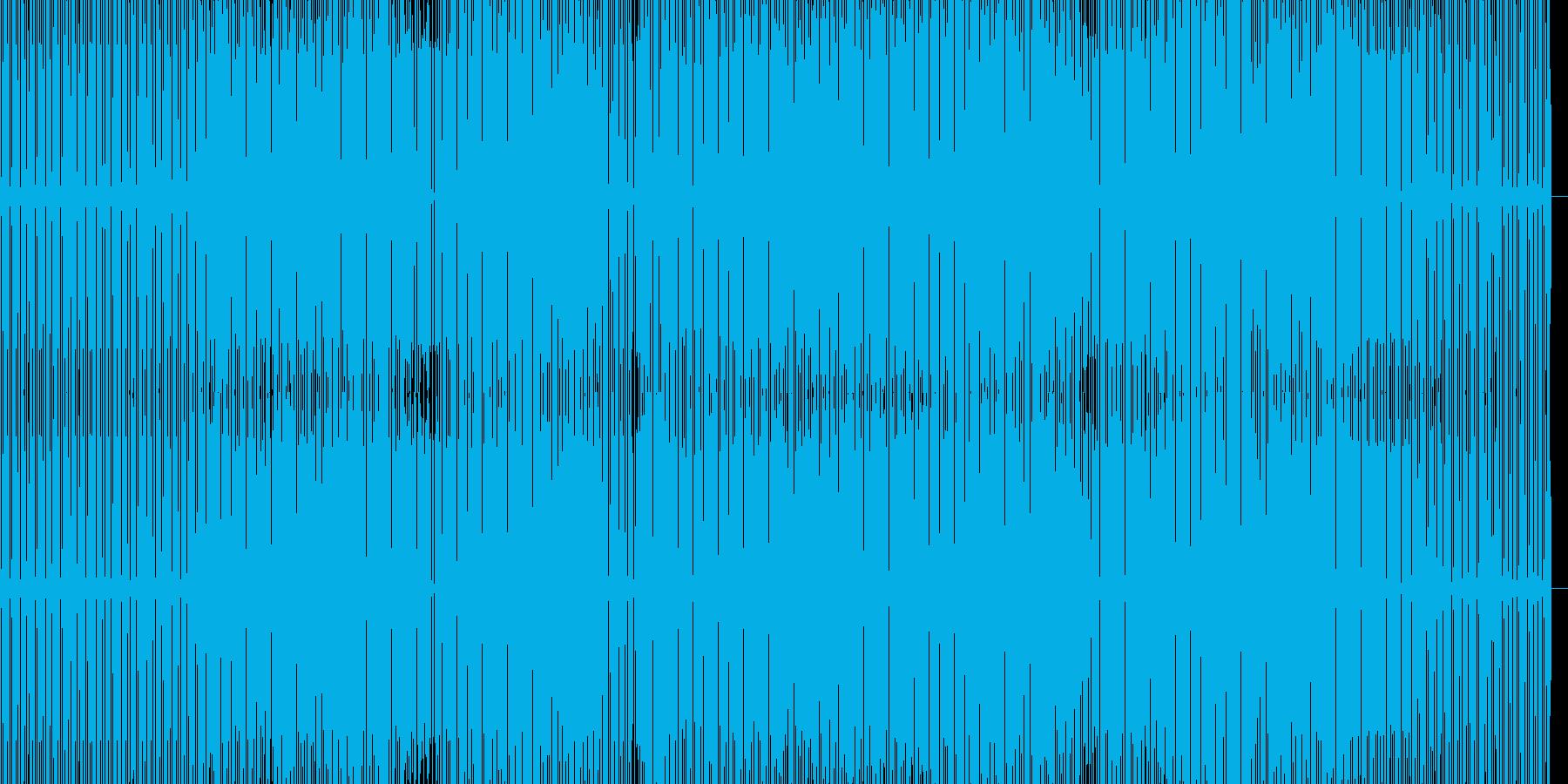 気持良いミニマルハウスの再生済みの波形