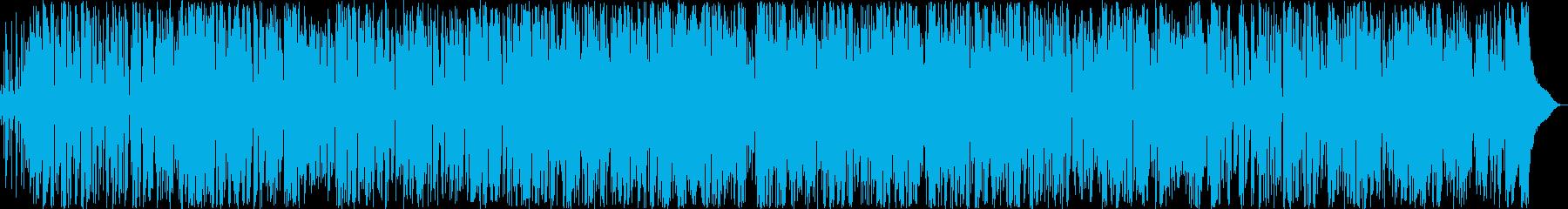 しっとりギターのおしゃれボサノバの再生済みの波形