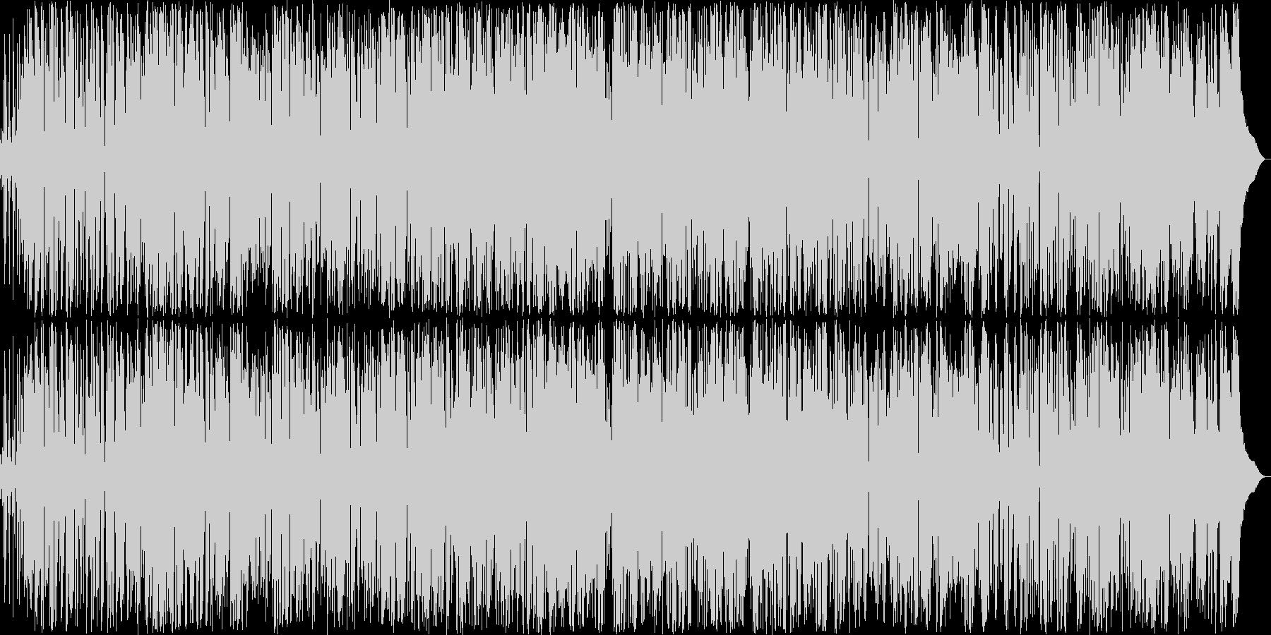 しっとりギターのおしゃれボサノバの未再生の波形