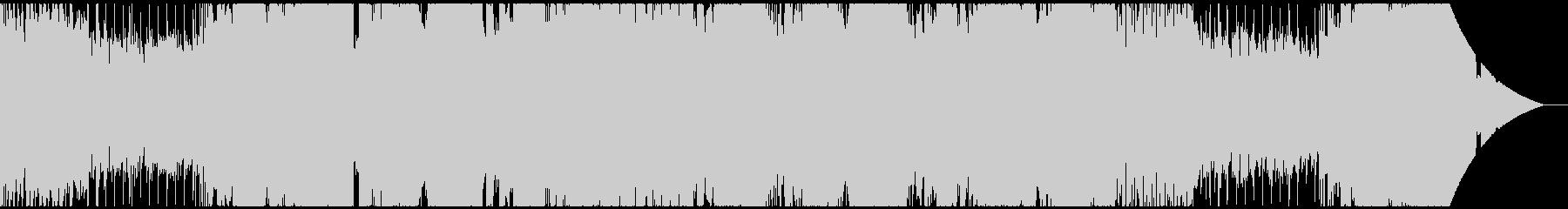 ロックテイストの通常バトル曲の未再生の波形