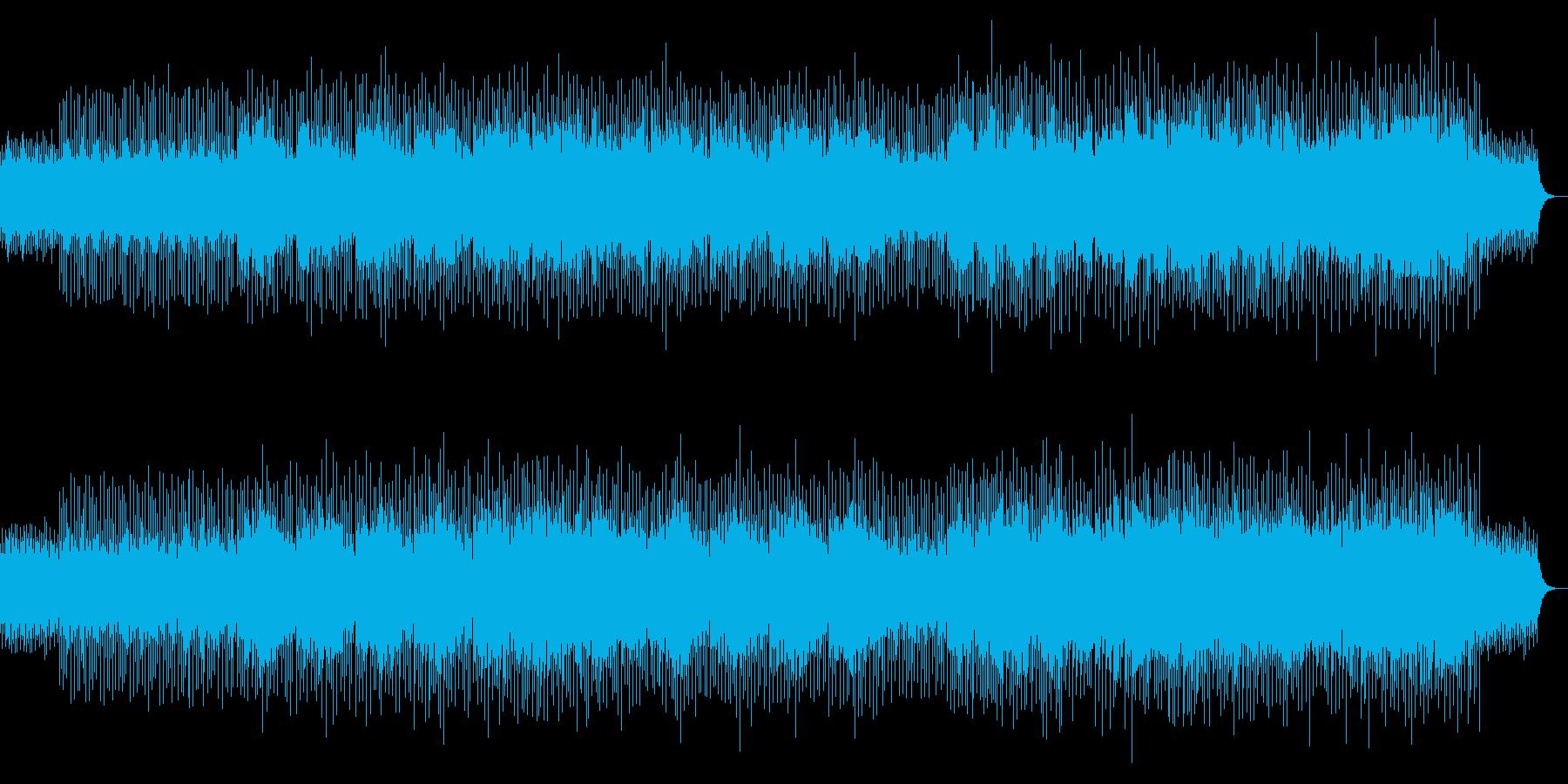 高音質♪ドラマ舞台用キラリ光るシーンの再生済みの波形