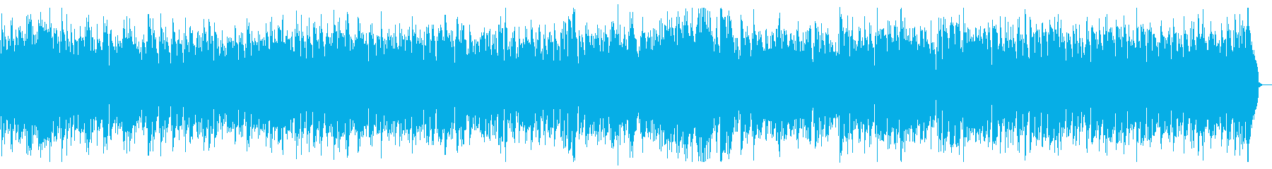 エレクトリックピアノのゆったりボサノバの再生済みの波形