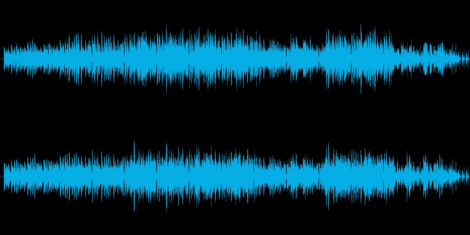 ポップなBGM パーティーの映像などにの再生済みの波形