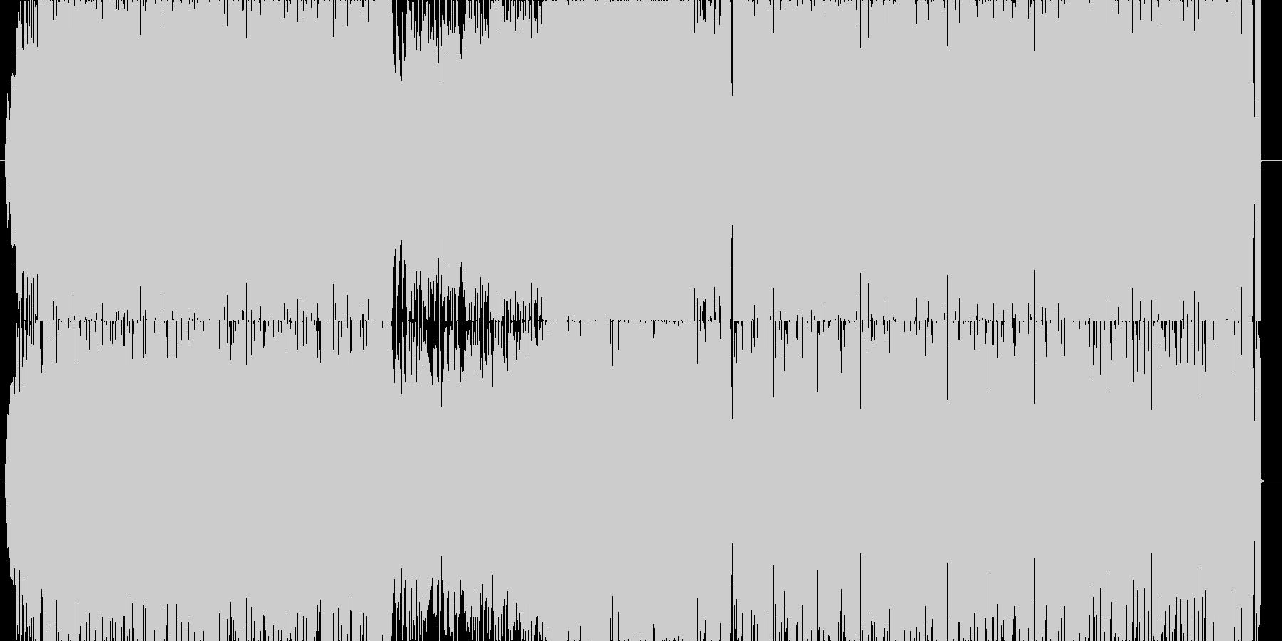 リオのカーニバル的なシンセチューンの未再生の波形