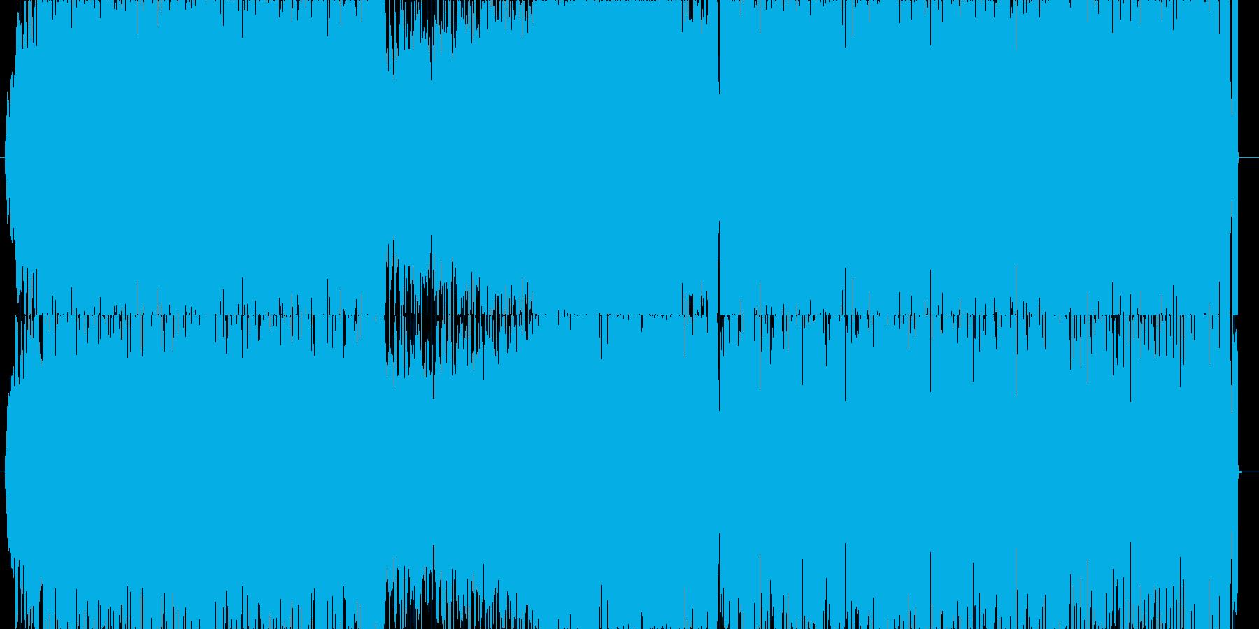 リオのカーニバル的なシンセチューンの再生済みの波形