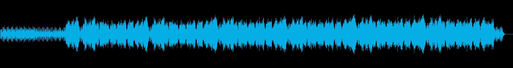 ゲームのオープニングの様な雰囲気のある曲の再生済みの波形