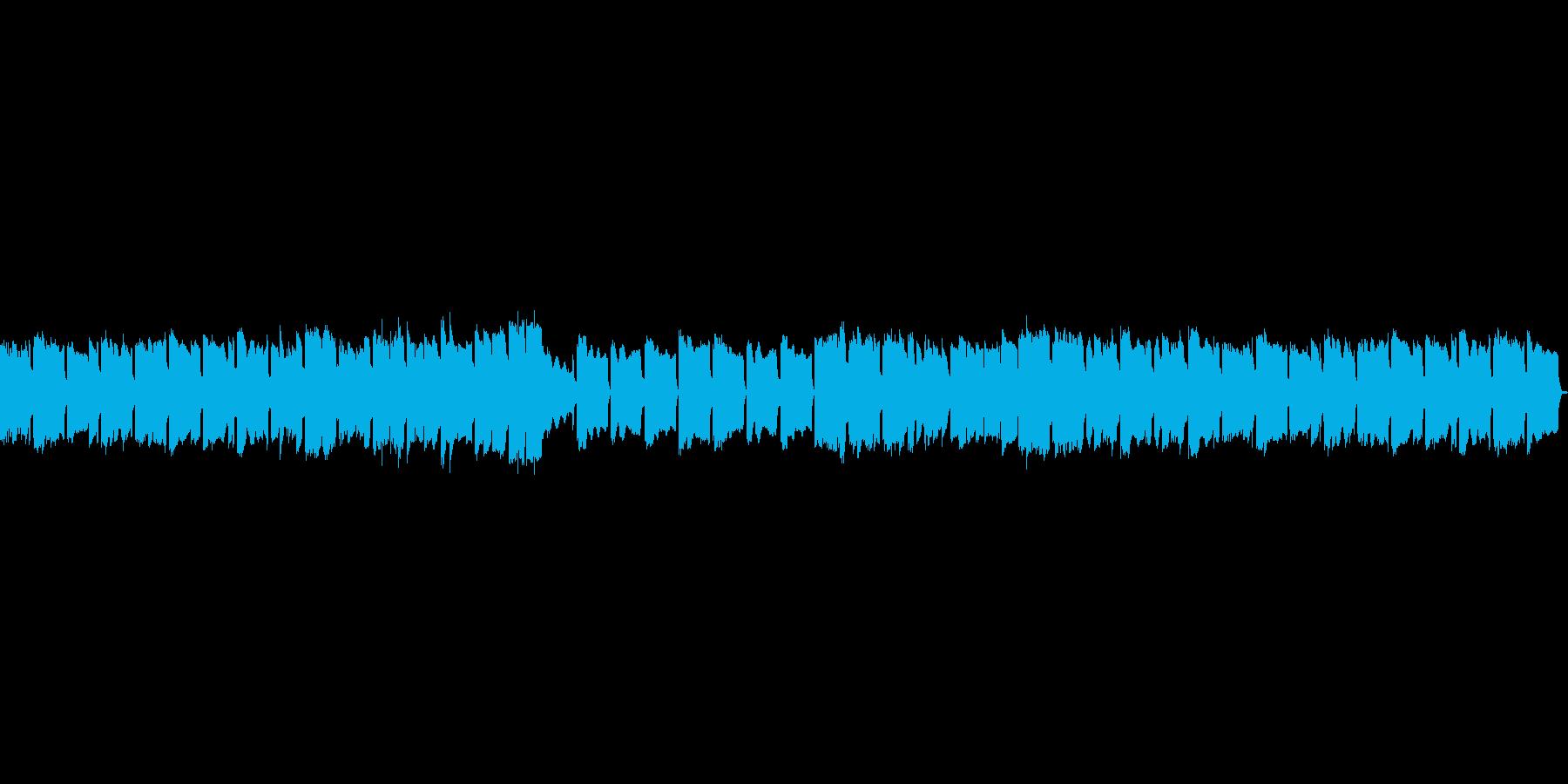 切ないオルゴールのBGMの再生済みの波形
