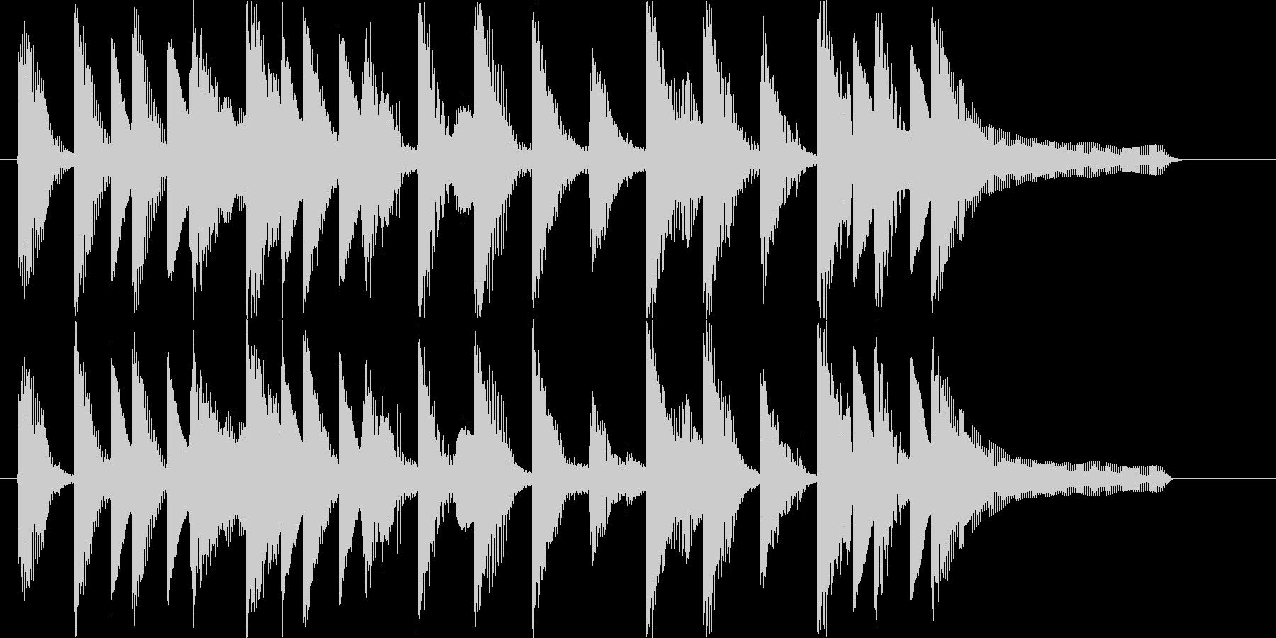 流行のコーポレート系ポップサウンド♪の未再生の波形
