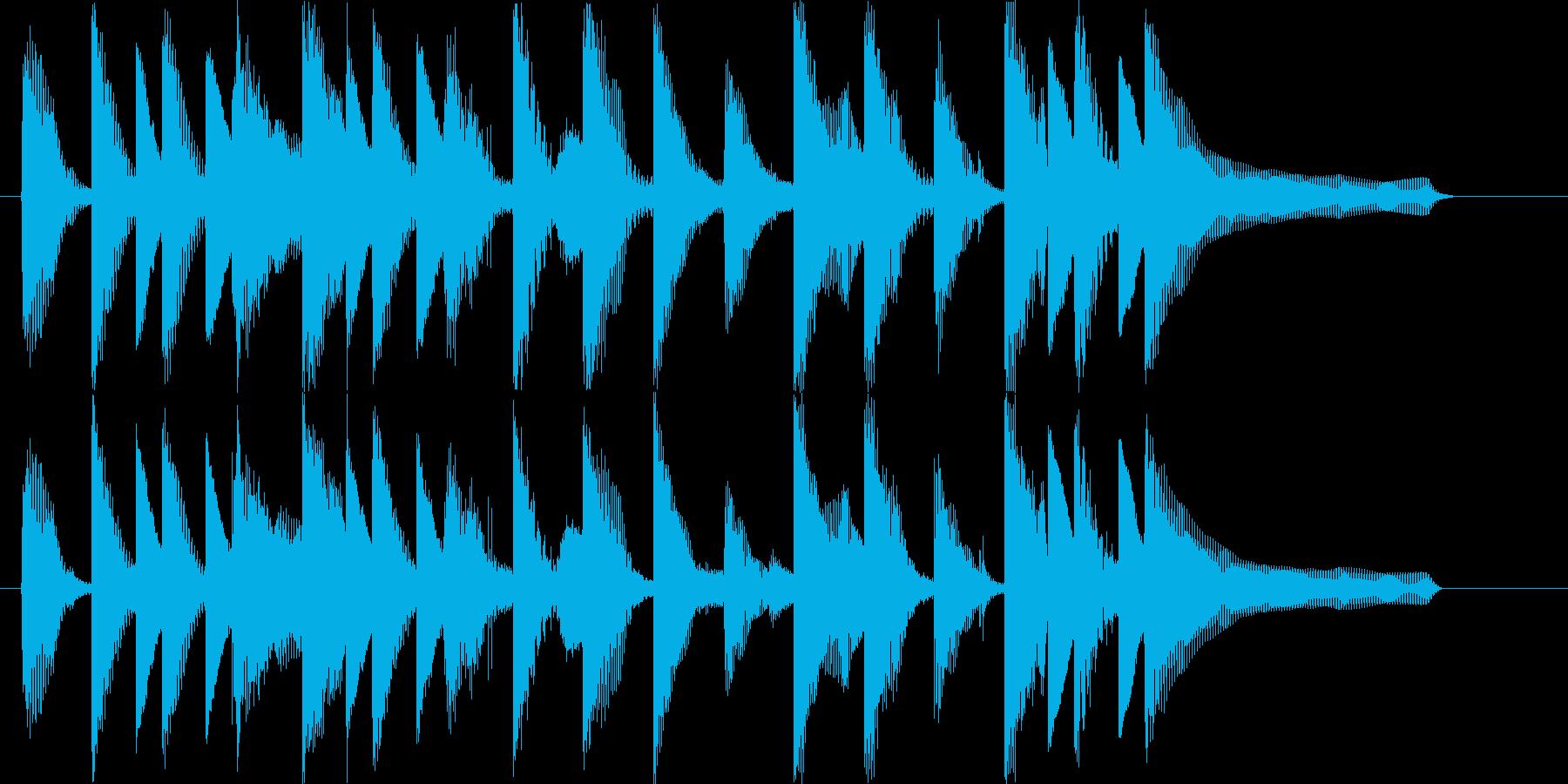流行のコーポレート系ポップサウンド♪の再生済みの波形