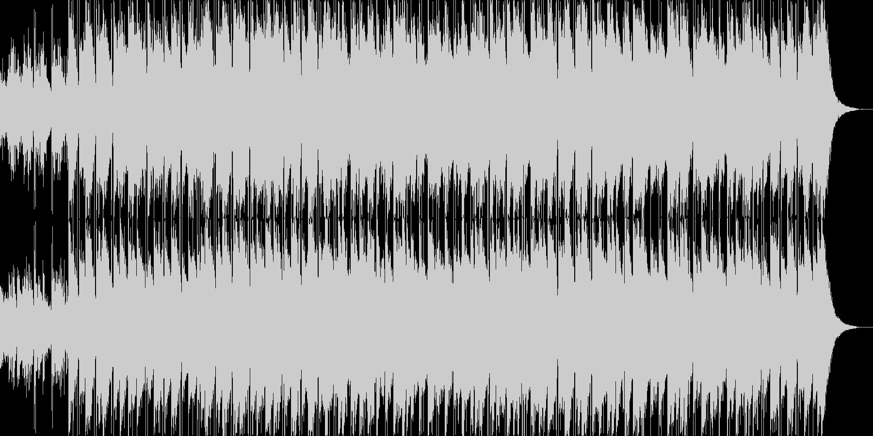 ノルディック系ファンタジー、空間系BGMの未再生の波形